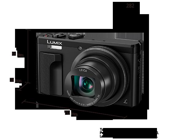 Fotocamera digitale LUMIX DMC-TZ80EG