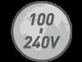 100-240 V