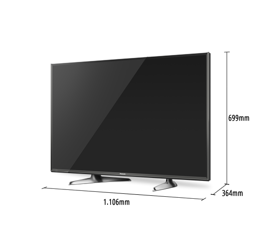 TV LED VIERA TX-49DX600