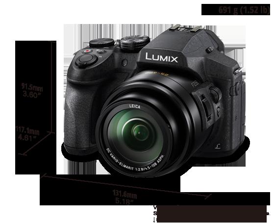 LUMIX skaitmeninis fotoaparatas DMC-FZ300EP