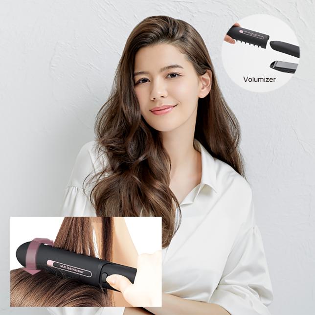 تمتعي بتصفيفة شعر جميلة بمنتهى السهولة مع Volumizer
