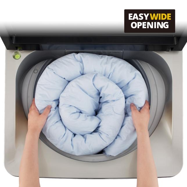 غسل يومي بدون مجهود، حتى مع الأحمال الكبيرة