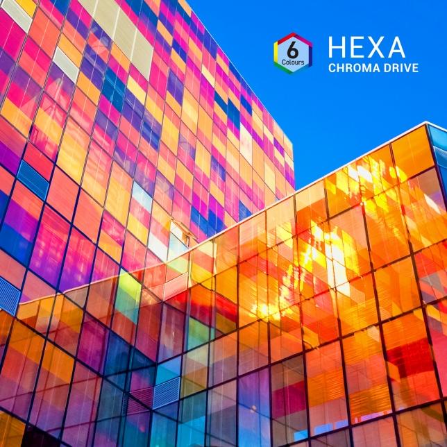 تقنية Hexa Chroma Drive