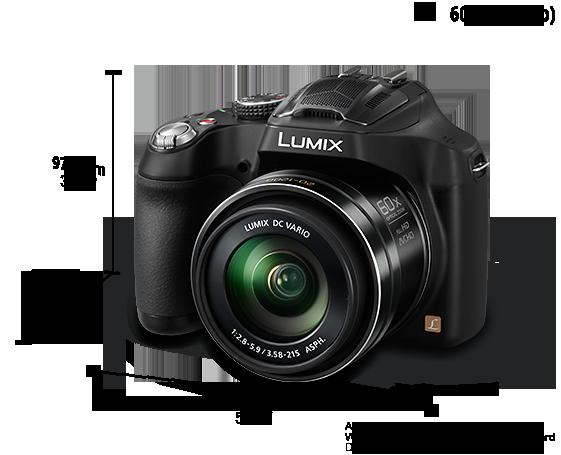Panasonic lumix dmc-fz70 basic camera user guide instruction.