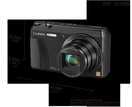 Panasonic lumix dmc-zs35 (lumix dmc-tz55): digital photography review.