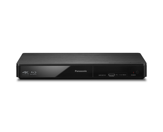 DMP-BDT270 Blu-Ray Disc Players - Panasonic Middle East