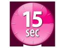 15 Seconds Heatup