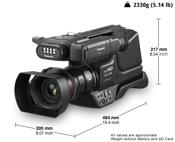 Hc Mdh3 Camcorders Panasonic Middle East