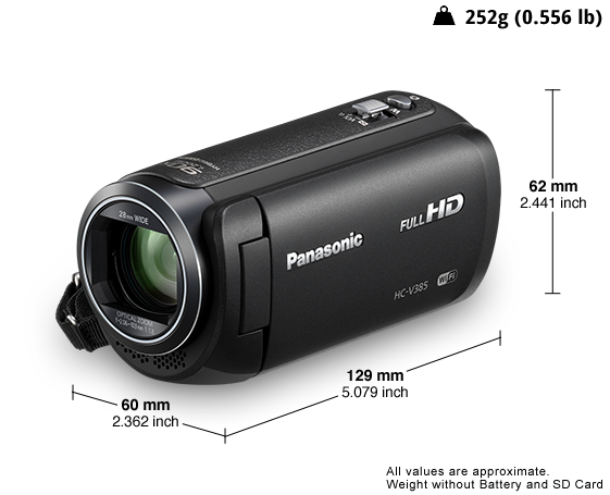 HD Camcorder HC-V385