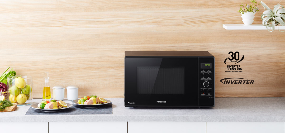 NN-GD37HBKPQ Inverter Microwave Oven with Grill