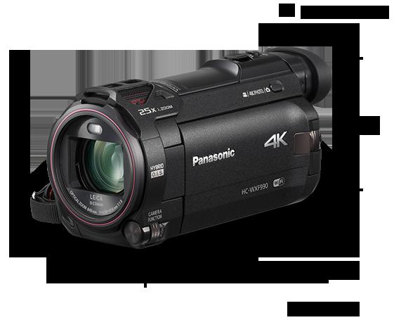 دوربین فیلمبرداری 4K Ultra HD مدل HC-WXF990
