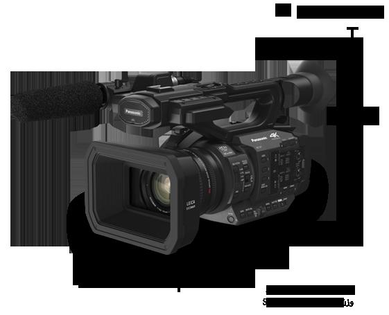 HC-X1 دوربینهای فیلمبرداری - Panasonic شرق میانهدوربین فیلمبرداری حرفه ای 4K مدل HC-X1