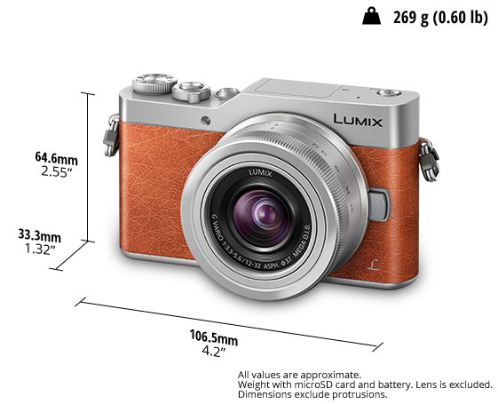 LUMIX Digital Single Lens Mirrorless Camera DC-GF9KGA