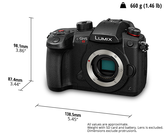 LUMIX Digital Single Lens Mirrorless Camera DC-GH5SGA