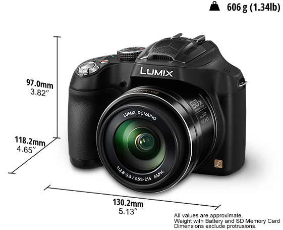 LUMIX Digital Camera DMC-FZ70GC