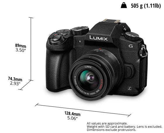 LUMIX Digital Single Lens Mirrorless Camera DC-G85KGC