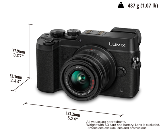 LUMIX Digital Single Lens Mirrorless Camera DMC-GX8K