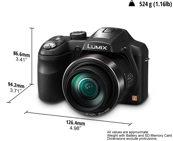 LUMIX Digital Camera DMC-LZ40