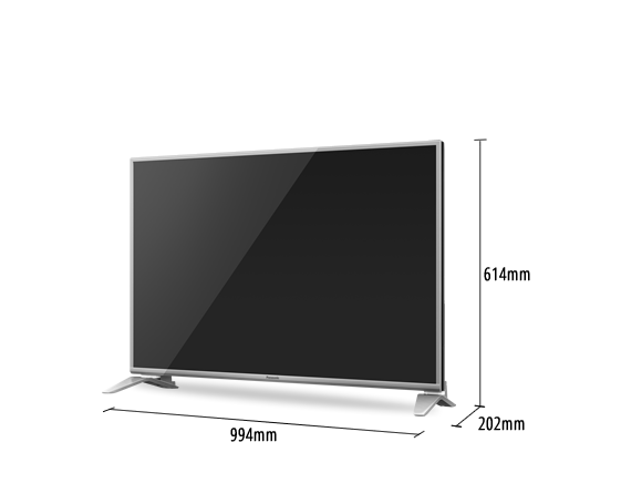 LED TV VIERA TH-43DS630S