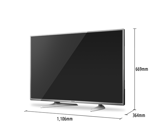 LED TV VIERA TH-49DX650S