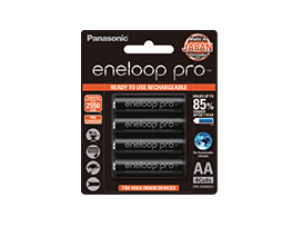 Photo of Rechargeable Eneloop AA Battery BK-3HCCE/4BT