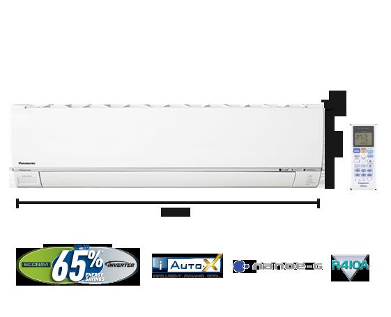 2.0HP Premium Single Split Inverter Air Conditioner CS-S18SKH (CU-S18SKH)