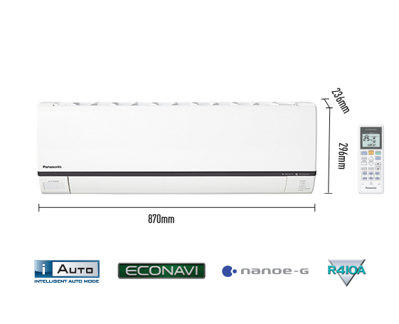 1.0HP Deluxe Single Split Non-Inverter Air Conditioner CS-V9RKH-1 (CU-V9RKH-1)
