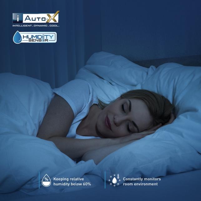 Humidity Sensor Optimises An Ideal Sleeping Environment