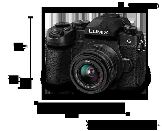 LUMIX G95 (14-42mm Lens Kit) – Ultimate Photo & Video Adventure