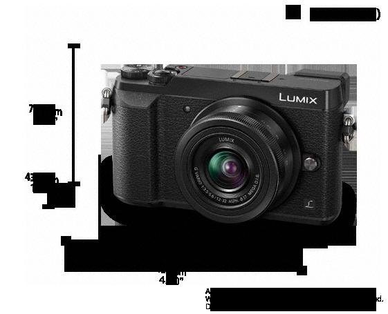 4K Function with 5-Axis Dual I.S. Digital Live MOS Sensor DMC-GX85K