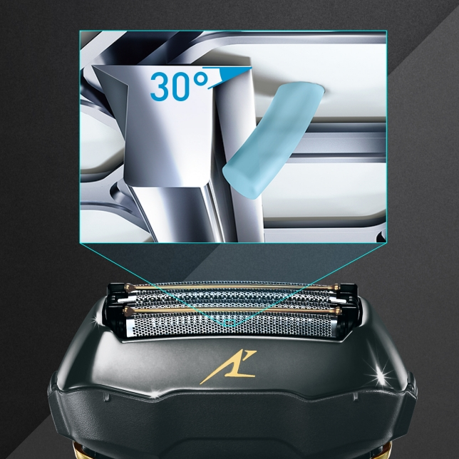 30˚ Nano Polished Inner Blades for Efficient Cutting