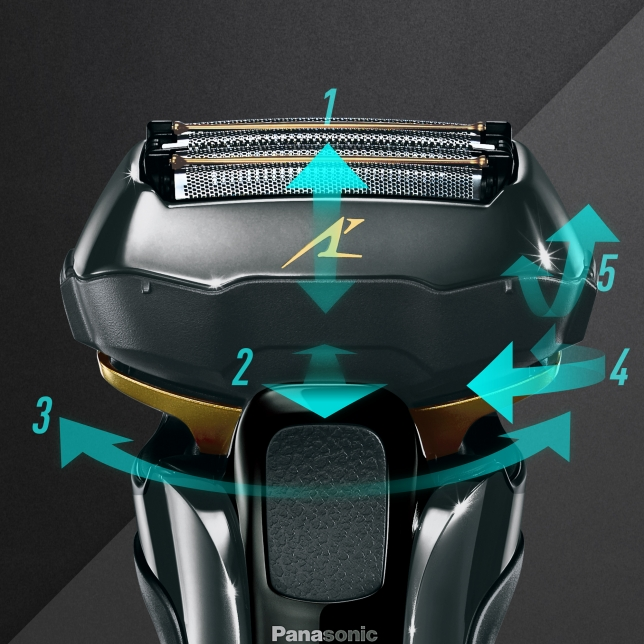 Multi-flex 5D Contour-Following Head