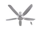 "Photo of NAMI 5 Blade Ceiling Fan F-M15E2VBHH (60"")"