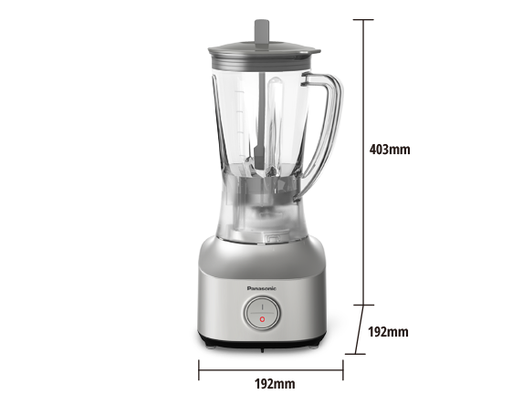 Durable & Lightweight Blender MX-M210SSL (Twin Jug & Dry Mill)