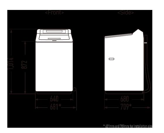 Top Load Washing Machine - 11.5KG ECONAVI Active Foam System NA-F115X1LRT