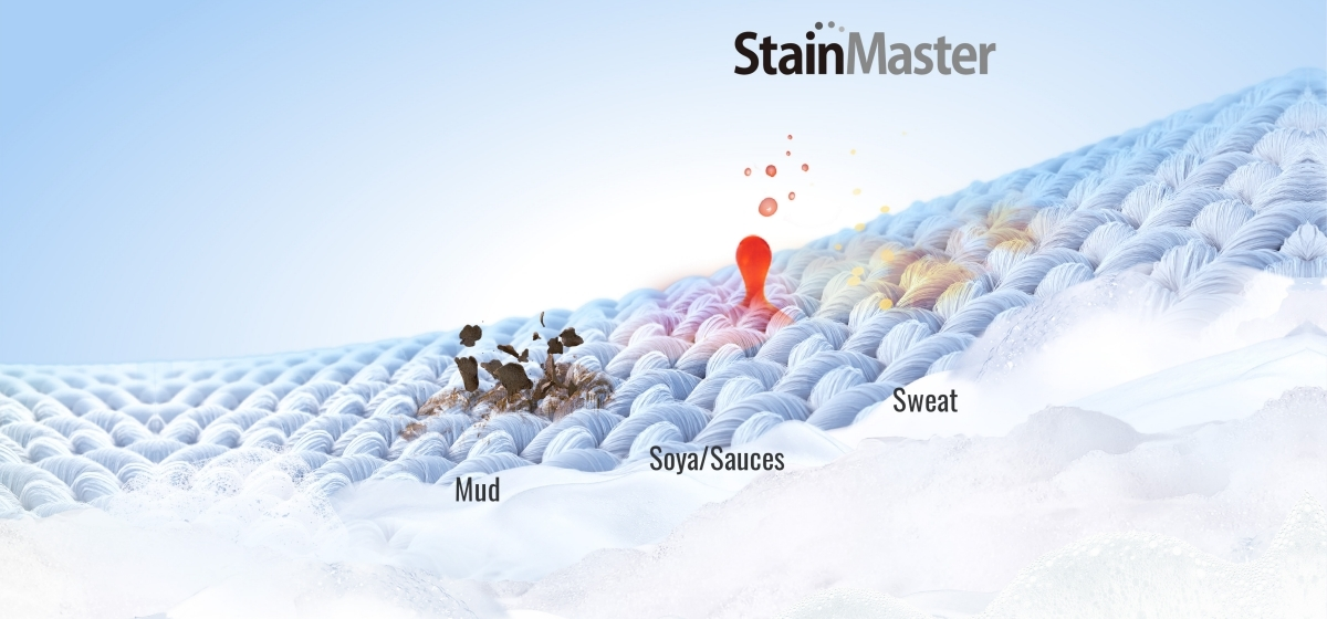 Three StainMaster Courses for Multi-stain Removal