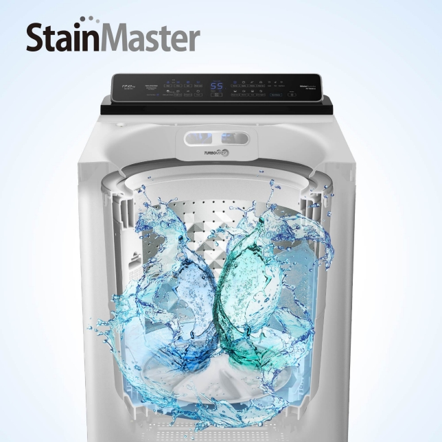 Active Scrubbing with Strong Water Flow