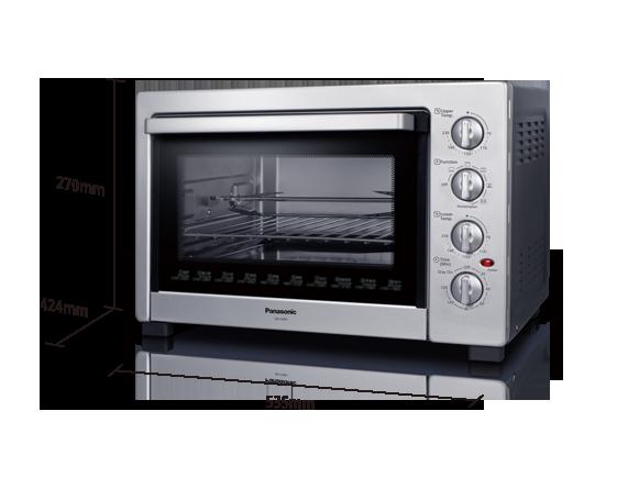 Panasonic large capacity electric oven 38l nbh3800ssk ban huat 38l large capacity electric oven nb h3800ssk publicscrutiny Images