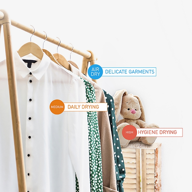 Versatile Drying Better Fabric Care
