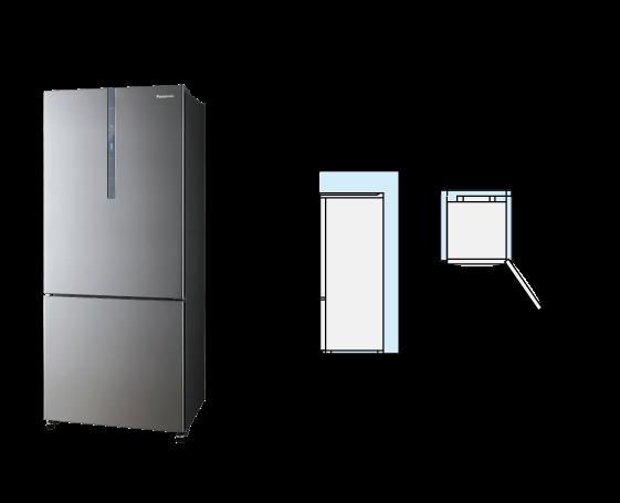 Nr bx418xsmy 2 door refrigerator products panasonic malaysia 2 door bottom freezer refrigerator nr bx418xsmy swarovskicordoba Choice Image