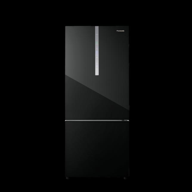 2-Door Inverter Fridge NR-BX421WGKM (Black Glass) – Panasonic MY