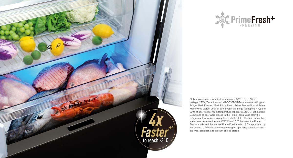 Faster Soft Freezing Keeps Food Fresh