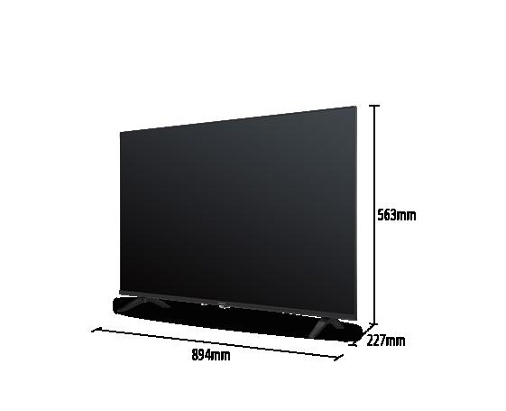 """40"""" G300 LED TV TH-40G300K – Stylish Slim Bezel Design"""
