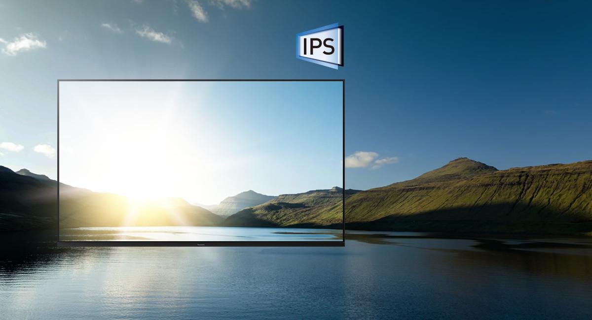 IPS Super Bright Pane | Panasonic 4K HDR Android TV TH-49GX650K – Google Assistant & Chromecast