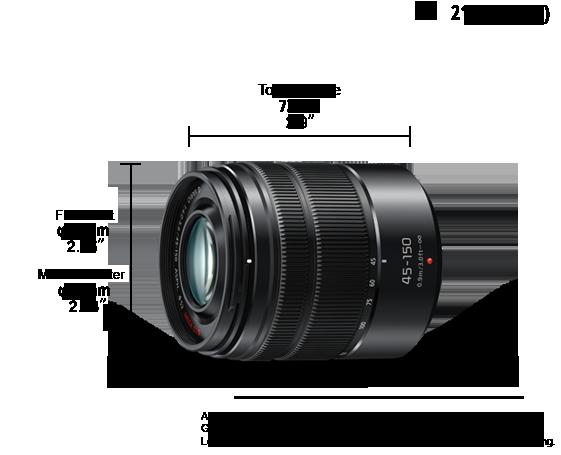 H-FS45150 Verwisselbare Lens