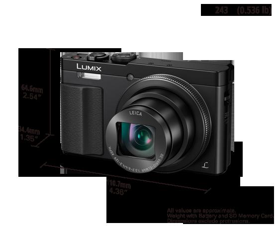 Panasonic Lumix TZ70 Battery & Charger