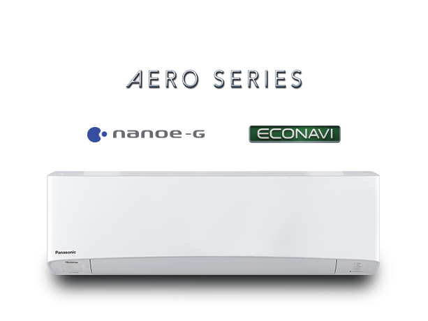 Photo of 2.0kW AERO Series ECONAVI Reverse Cycle Inverter Air Conditioner CS/CU-Z20TKR