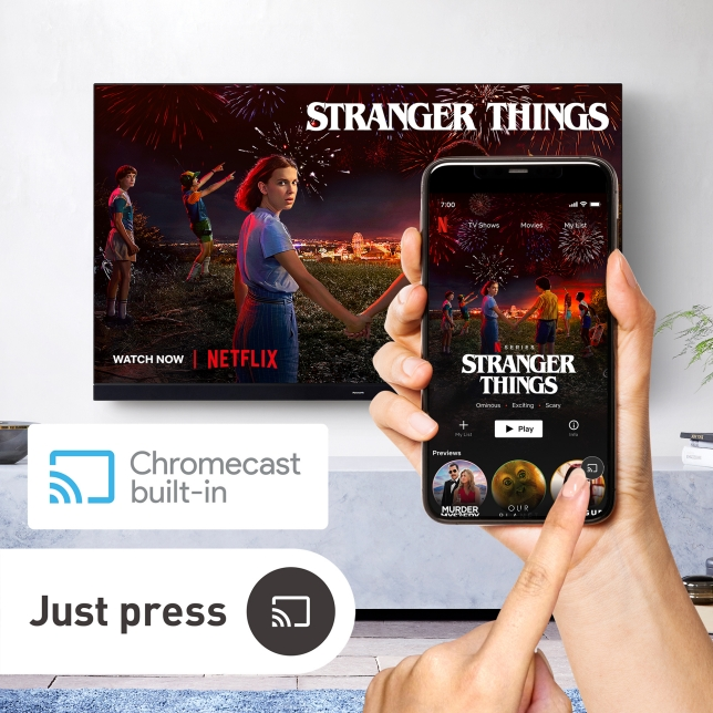 Chromecast buit-in™