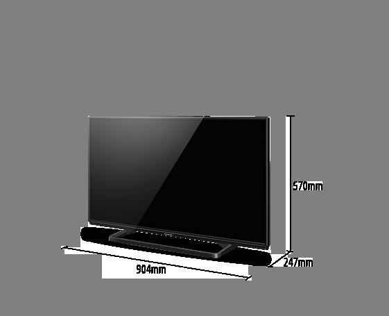 TV LED VIERA TC-40A400