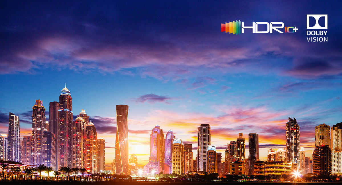 Soporta HDR10+/ Dolby Vision